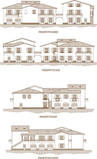 Appartamento Umbria - Prospetto - scegli la casa per te in Umbria - Umbria immobiliare