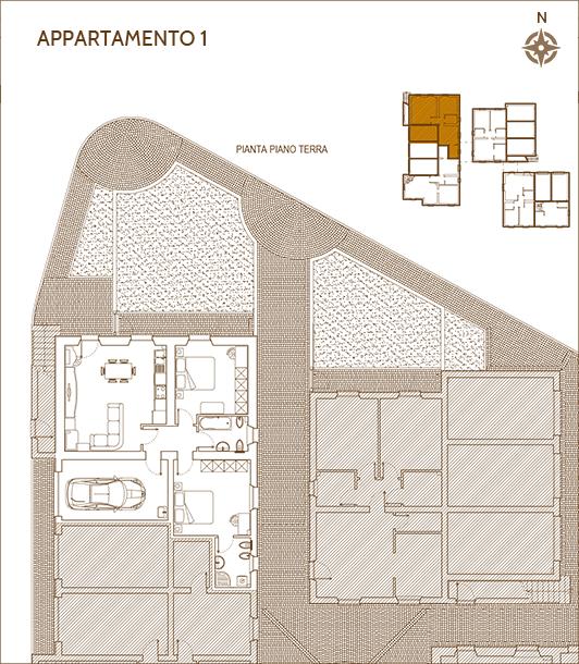 Appartamento Umbria 1 - umbria immobiliare, casa umbria, casa vacanze umbria